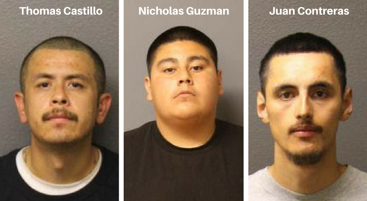 Three Charged in 2017 Homicide Investigation title=