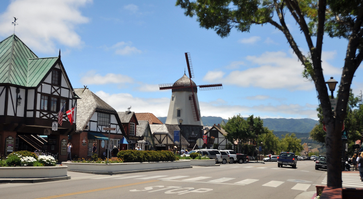 Solvang Named in Best Historic Small Towns Poll title=