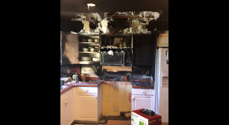 Firefighters Respond to Solvang Kitchen Fire