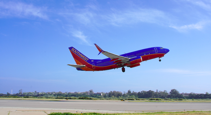Southwest Airlines Officially Lands in Santa Barbara title=