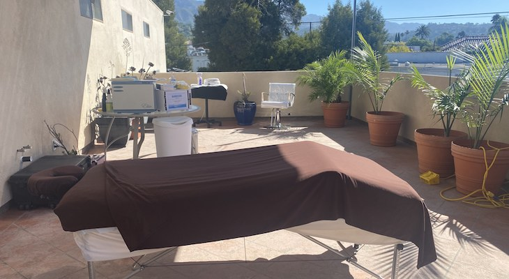 Spa Escape Offers Safe Outdoor Relaxation & Pampering title=