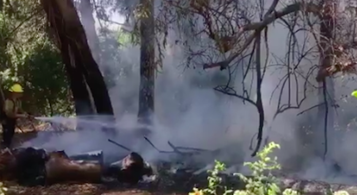 Spot Fire in Goleta Contained