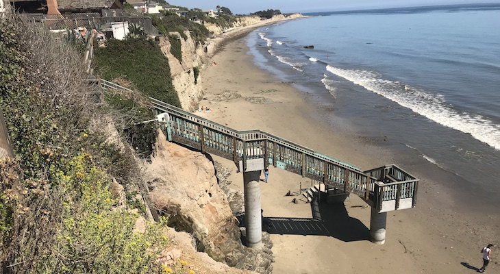 New Camino Pescadero Beach Access