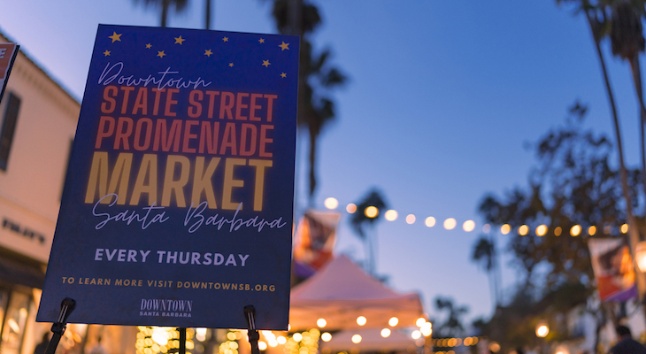 State Street Promenade Market Every Thursday