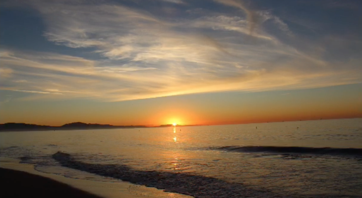 Sunrise Compilation in Santa Barbara title=