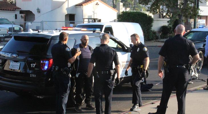 Pursuit and Arrest of Wanted Criminal