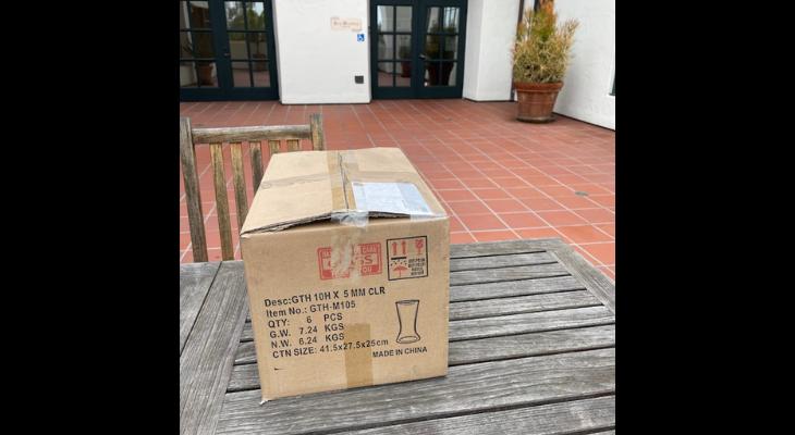 Suspicious Package at De La Guerra Plaza Was Box of Clothes
