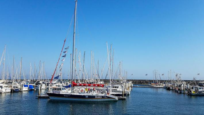 Maiden Sails into Santa Barbara