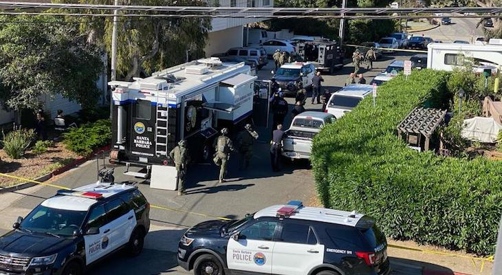 SWAT Incident on the Mesa