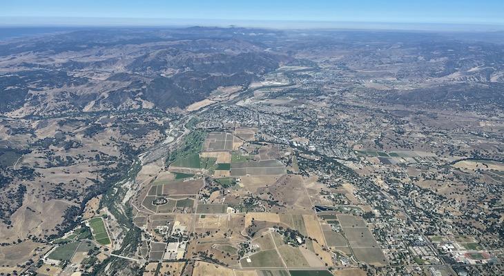 Above Santa Ynez Valley