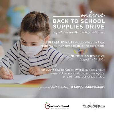 Back-to-school Fund Drive Aims to raise $60,000