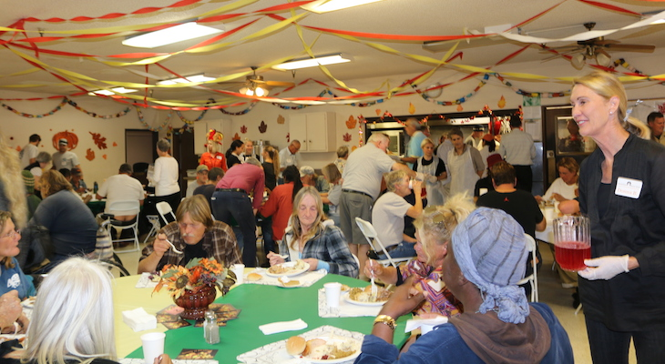 Santa Barbara Rescue Mission Thanksgiving Feast title=