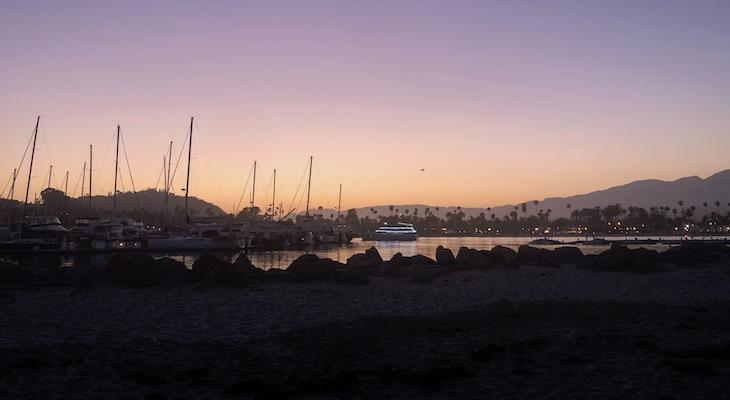Sandspit Sunset title=
