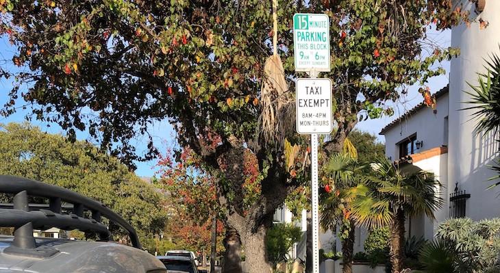 SBPD Clarifies Street Sweeping Rules title=