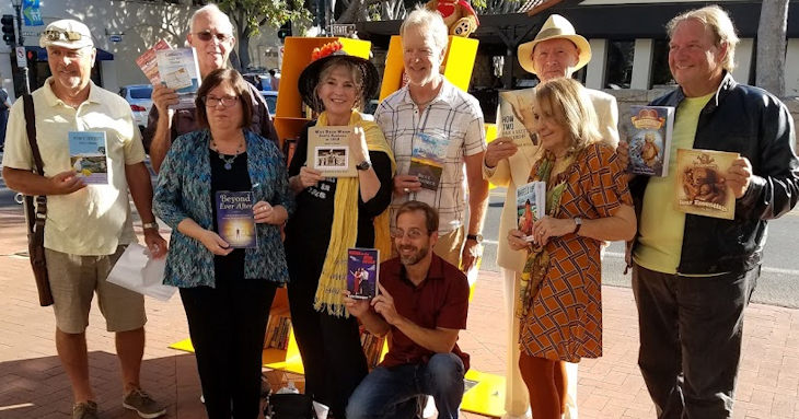 Local Authors Celebrate Tiny Library title=