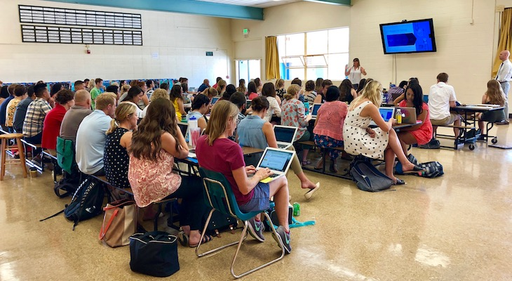 New Teachers Get a Running Start on Their New Careers