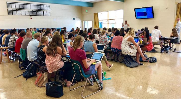 New Teachers Get a Running Start on Their New Careers