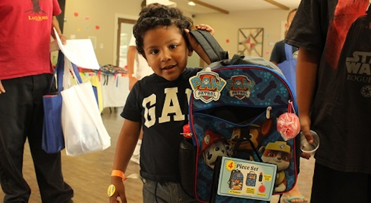 Tools for School Brings Class Supplies to 400 Kids in Need