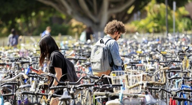 UC Santa Barbara named Platinum-level Bike Friendly University