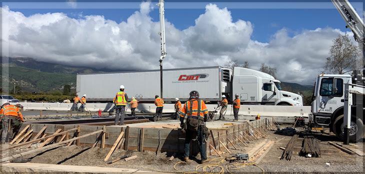 Highway 101 Closures in Carpinteria title=