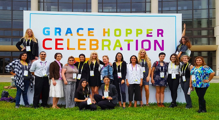 SBCC Students attend Grace Hopper Celebration of Women in Computing title=