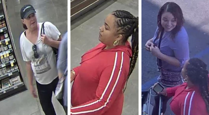 Grand Theft Suspects Who Stole Wallet from Local Grocery Store