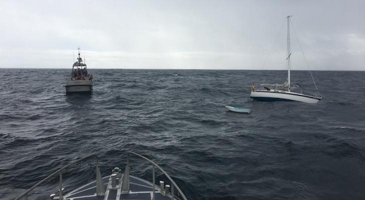 Ocean Rescue Near Point Piedras Blancas title=