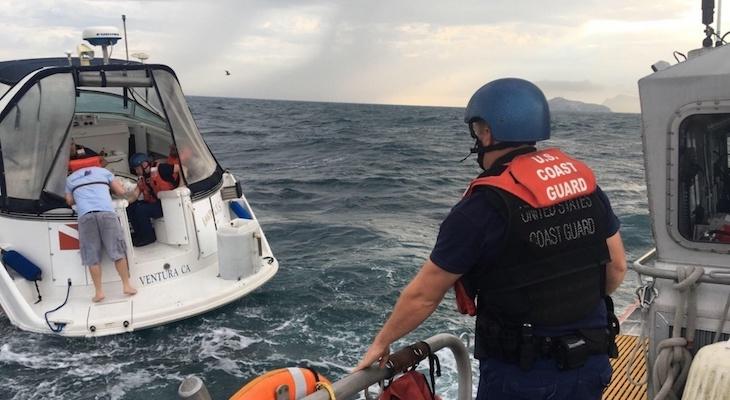 Coast Guard Rescues Boaters Near Anacapa Island title=