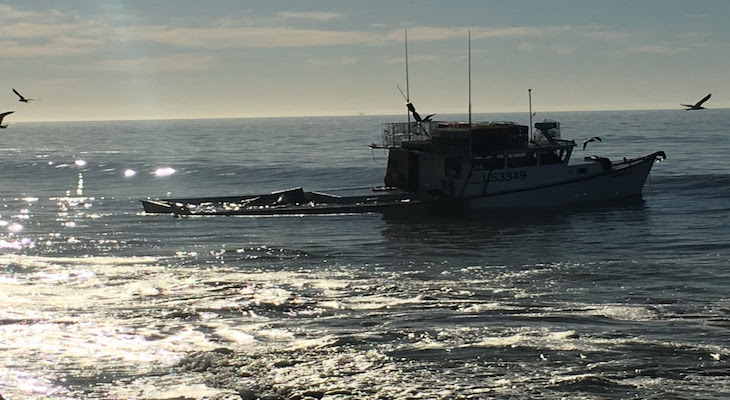Coast Guard Responds to Grounded Vessel at El Capitan State Beach title=