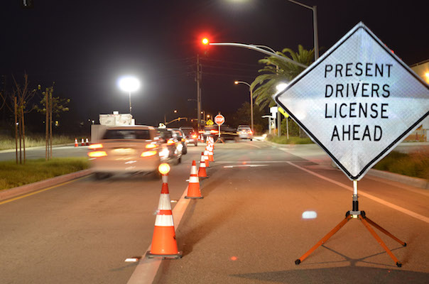 Checkpoint in Goleta on Friday
