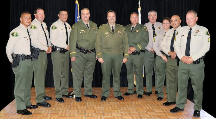 Sheriff Celebrates Promotions and Staff Honors
