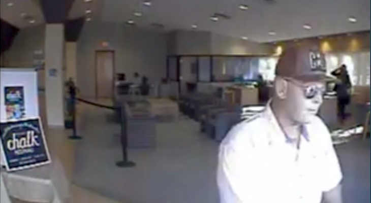 Seasoned Bandit Bank Robber Sought by FBI