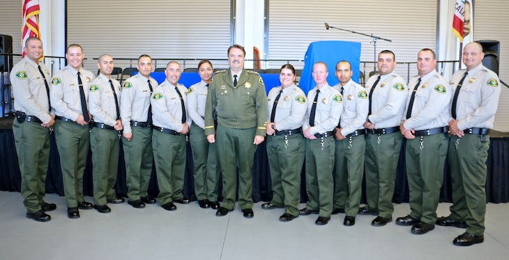 Sheriff Cadets Graduate from Custody Deputy Academy title=