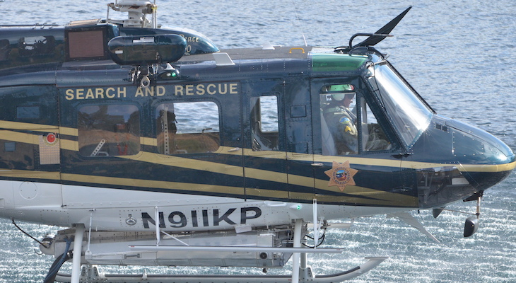 Sheriff Office's First Helicopter Pilot to Retire title=