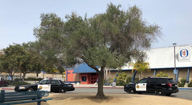 Sheriff's Office Investigates More Threatening Graffiti at San Marcos High School