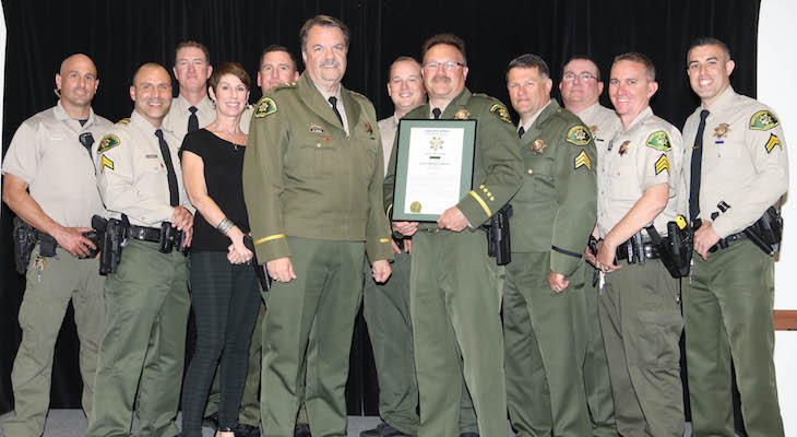 Sheriff's Office Honors Exemplary Performance in 2017