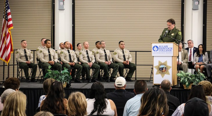 Ten Cadets Graduate from Custody Deputy Academy title=