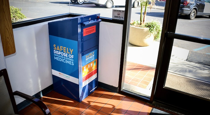 New Medicine Disposal Kiosks Now Located Across County title=