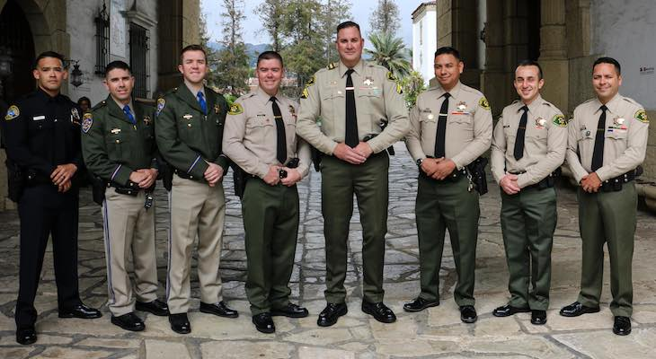 Local Officers Receive Thomas Guerry Awards title=