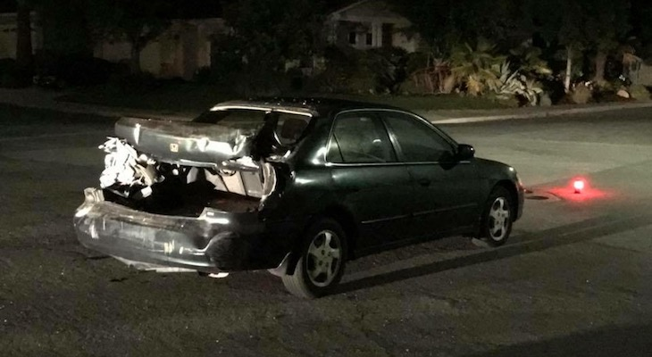 DUI Driver Arrested After Colliding with Several Vehicles