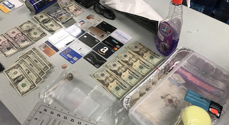 Traffic Stop Leads to Discovery of Alleged Counterfeit Ring title=