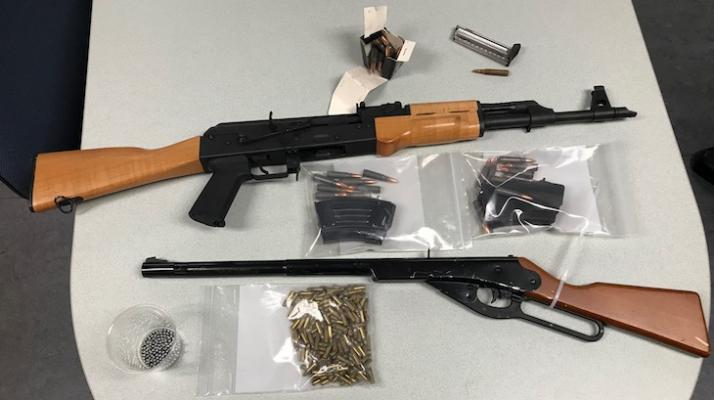 Report of a DUI Driver Leads to Arrest for Illegal Assault Weapon title=