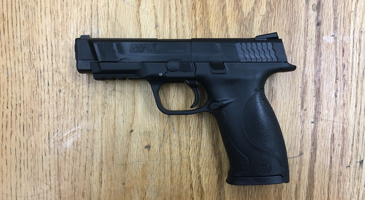 Carpinteria Man Arrested After Pointing Replica Firearm at Sheriff's Sergeant title=