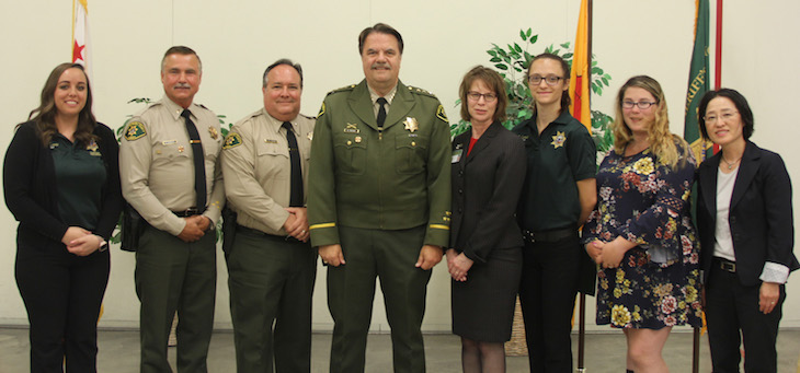 Sheriff's Office Welcomes 4 New Employees and Celebrates 3 Promotions title=