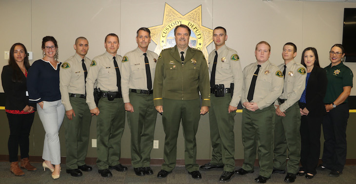 Sheriff's Department Welcomes 10 New Employees
