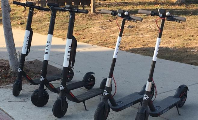 Goleta Police Remind Scooter Riders of the Law title=