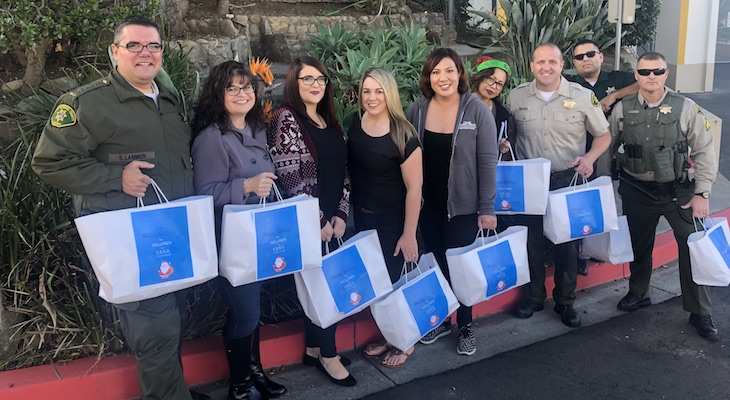 Hundreds of Care Packages Delivered to People in Need title=