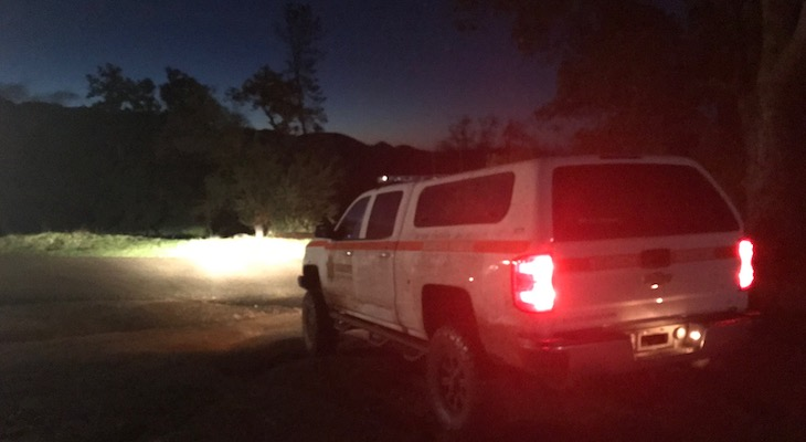 Two Hikers Rescued Sunday Evening