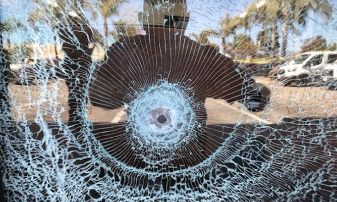 Bullet Holes Found in Goleta Business title=