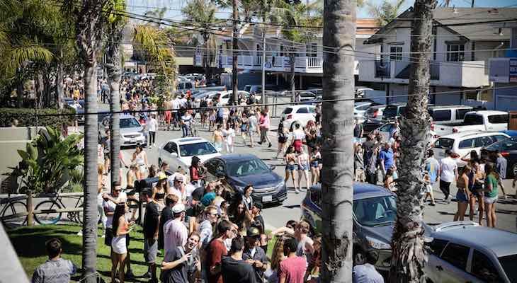 Deltopia Draws 15,000 to Isla Vista title=